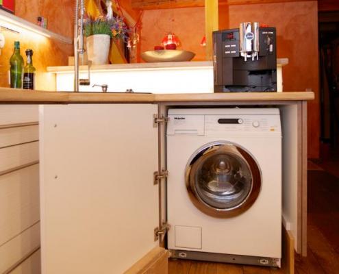 vollverblendete Waschmaschine